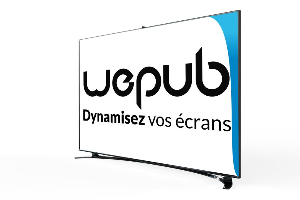 écran affichage dynamique